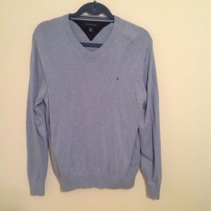 Tommy Hilfiger blue men's sweater size Medium